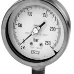 Stainless steel Bourdon Tube Pressure Gauges